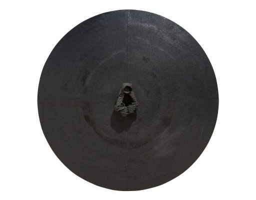 Soo-Sok 2015RI, papier mûrier, ø120 cm, 2015