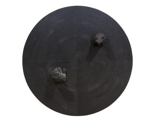 Soo-Sok 2015RII, papier mûrier, ø120 cm, 2015
